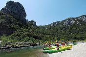 HERAULT RIVER - Canoe tour + Bivouac